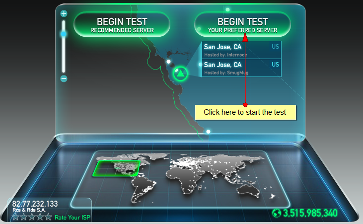 how to see your internet bandwidth