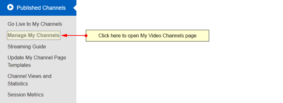 manage video channels-1