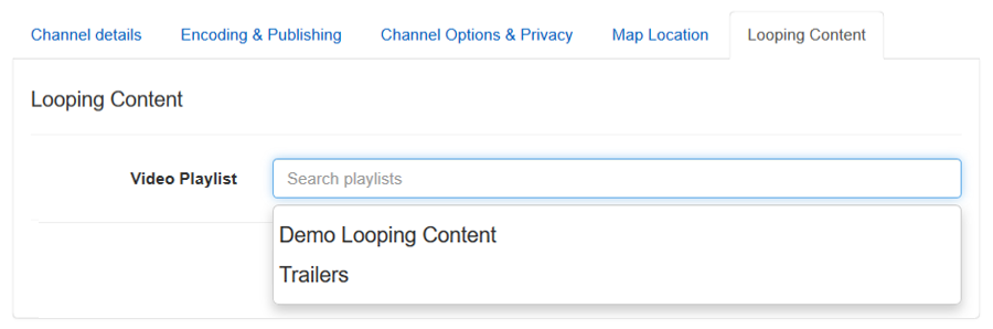 Looping Content Channel-3