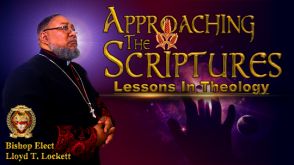 Approaching The Scriptures