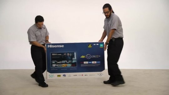 Safely Unbox Your New Hisense HD TV  Best Buy