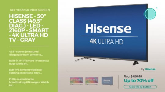 50 Inch 4K Smart TV Best Buy TV Deals