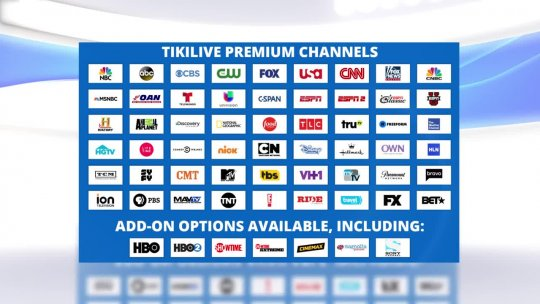 Welcome to TikiLIVE The Cable Alternative