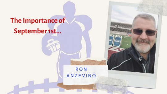 Coach Ron Anzevino: I GRIND FOR THE FAMILIES