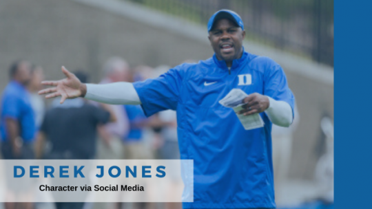 COACH DEREK JONES/SOCIAL MEDIA