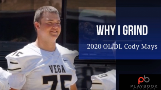 2020 CODY MAYS: WHY I GRIND