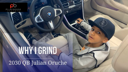 2030 QB Julian Oruche / WHY I GRIND
