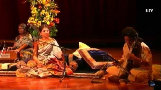 MERU Concert live  Kaushiki Chakrabarty with Soumik Datta and Vijay Ghate