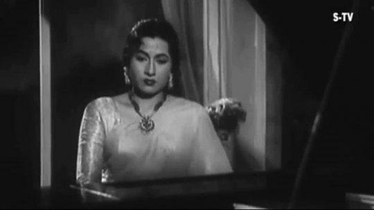 Thandi Hawa Yeh Chandni Suhani  Jhumroo Songs  Kishore Kumar  Madhubala  Filmigaane