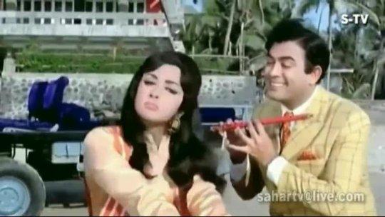 Koi Ladki Mujhe Kal Raat Sapne Seeta Aur Geeta HD 1080P