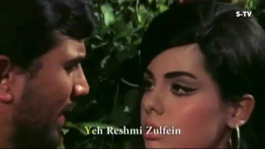 Yeh Reshmi Zulfein (HD)  Superhit Rajesh Khanna Old Karaoke Song  Do Raaste  Mumtaz  Mohd
