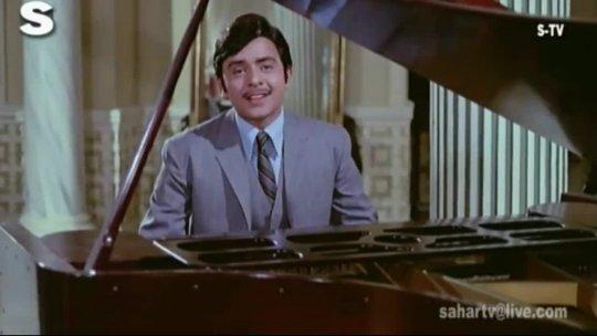 Geet Gata Hoon Main Kishore Kumar Lal Patthar Vinod Mehra, Raaj Kumar