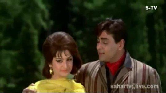 Sachcha Hai Gar  Rajendra Kumar  Saira Banu  Jhuk Gaya Aasman  Bollywood Songs  Mohd Rafi