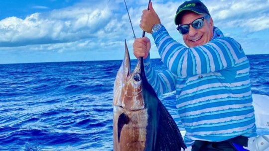 Peter's First Sailfish