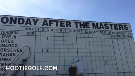 Myrtle Beach Monday After the Masters Event