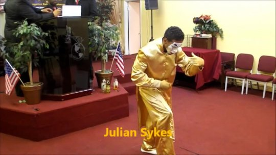 Julian Dances at JITA 2012