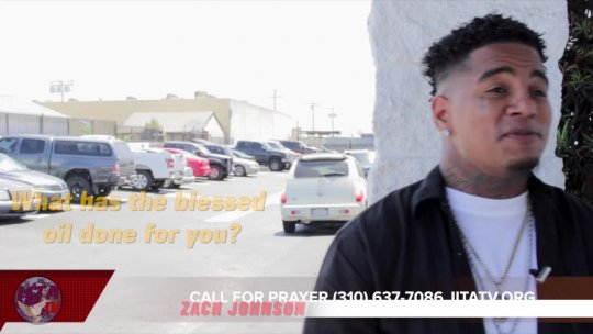 PROMO Special Testimony Blessed Oil with Zach Johnson