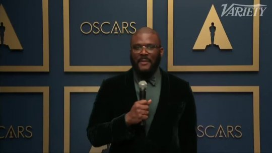 Tyler Perry Wins The Jean Hersholt Humanitarian Award at 2021 Oscars