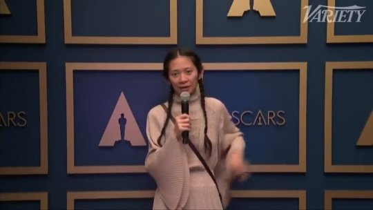 Chloé Zhao Oscar Win For Best Director
