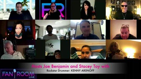 Fan Room Live Hosts: KENNY ARONOFF