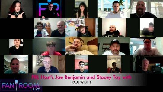 Fan Room Live: PAUL WIGHT