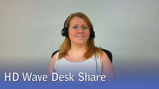 HD Wave Desk Share