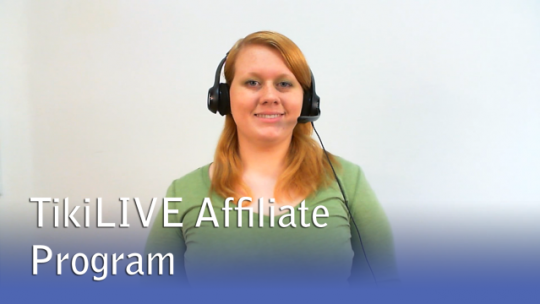 TikiLIVE Affiliates Program
