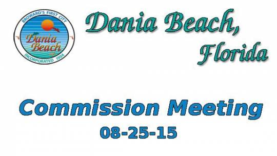 08-25-2015 Commission Meeting