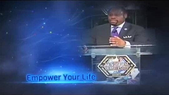 12 principles for developing your personal leadership - Dr Myles Munroe