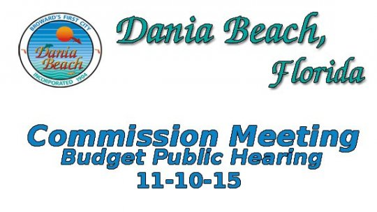 11-10-2015 Budget Public Hearing