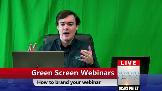 How to add Green Screen Video to your Webinar