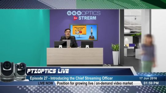 PTZOptics Live  EP 27  Introducing the Chief Streaming Officer