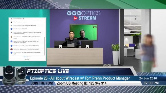 PTZOptics Live  EP 28  All about Wirecast Live Streaming Software