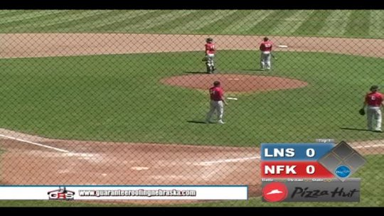 BASEBALL: Norfolk Seniors  vs Lincoln North Star - part 1