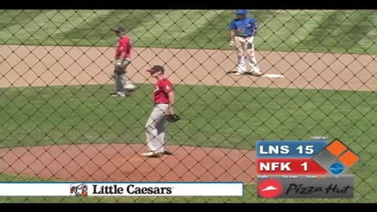 BASEBALL: Norfolk Seniors  vs Lincoln North Star - part 2