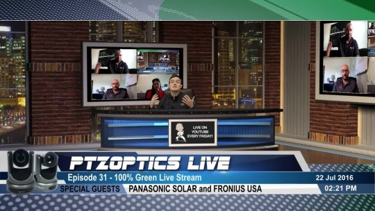 Post Show  100% Green Live Stream w Panasonic and Fronius USA (EP 31