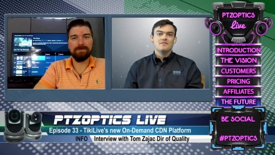 Over The Top On Demand CDN Platform POST SHOW Interview w Tom Zajac (EP 33 Post Show
