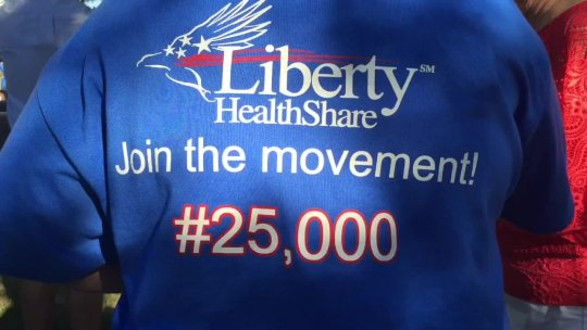 July 4 Liberty HealthShare Promo