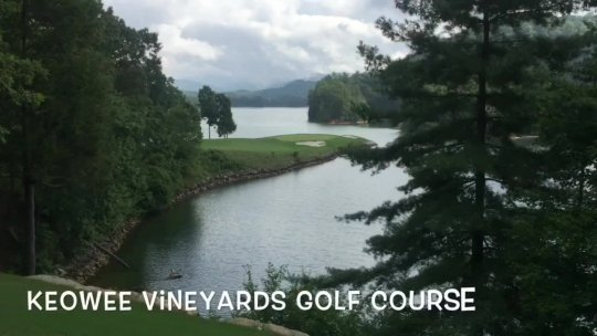 Keowee 17th Hole