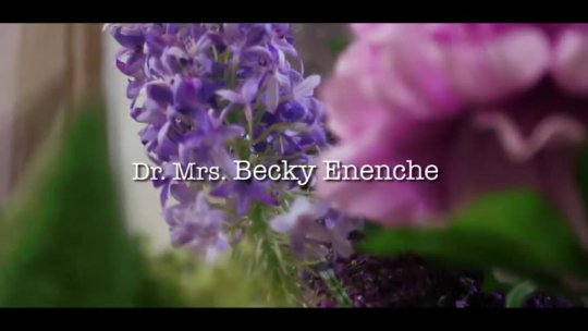 Dr Becky Enenche  BE THE CENTRE OF MY LIFE