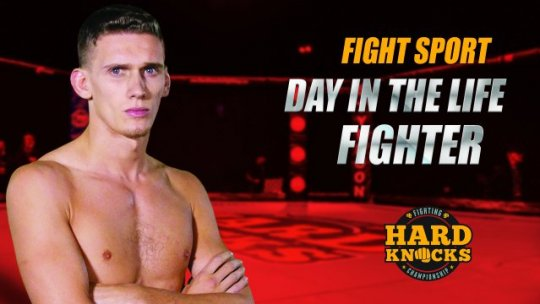 Fight Sport - Day in the Life - Fighter: Miles Anstead
