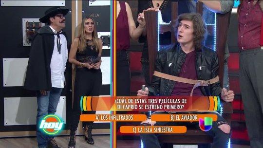 Federico Ayos soportó el dolor en la silla eléctrica