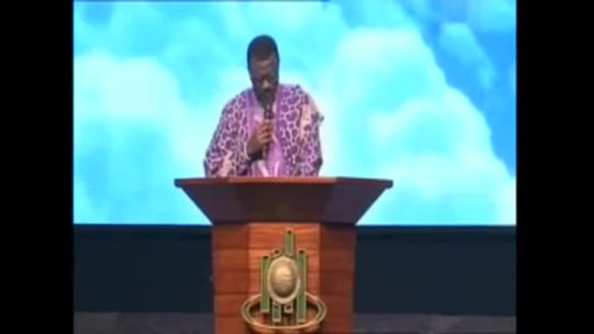 Dr Mensa Otabil  Moved by The Spirit