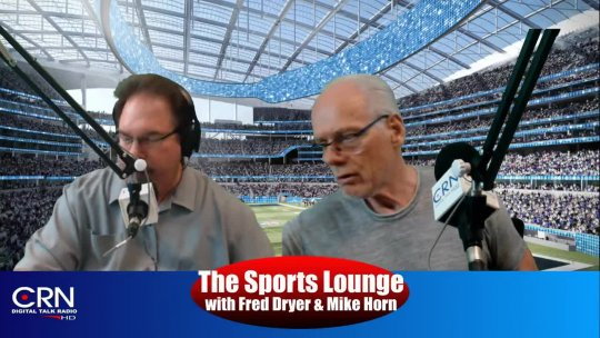 The sports lounge with Fred Dryer