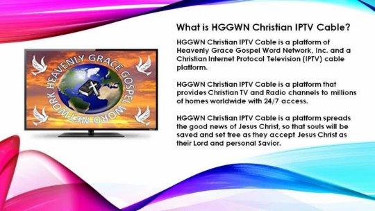 HGGWN Christian IPTV Cable Platform Intro