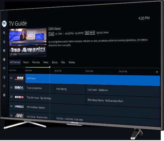 iptv download smart tv hisense