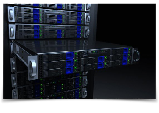 TikiLIVE Streaming Server Racks