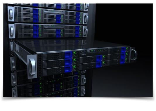 TikiLIVE Streaming Server Racks