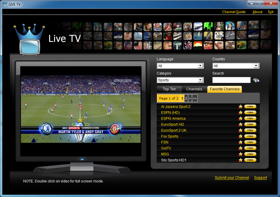 livestreams tv
