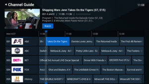 EPG Software from TikiLIVE: Share Scheduled Events With Your Audience
